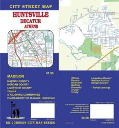 Buy map Harrisonburg and Rockingham County, Virginia by GM Johnson from Virginia Maps Store