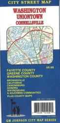 Buy map Washington, Uniontown and Connellsville, Pennsylvania by GM Johnson