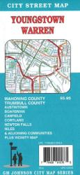 Buy map Youngstown, Ohio, Vicinity by GM Johnson from Ohio Maps Store