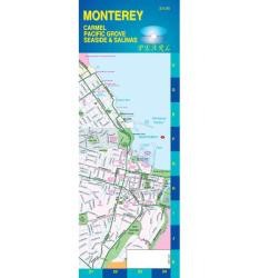Buy map Monterey, California, Pearl Map, laminated by GM Johnson