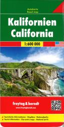 Buy map California by Freytag-Berndt und Artaria from California Maps Store