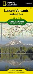 Buy map Lassen Volcanic National Park, Map 268 by National Geographic Maps