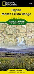 Buy map Ogden Monte Cristo Range by National Geographic Maps from Utah Maps Store