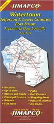 Buy map Jefferson County, New York by Jimapco