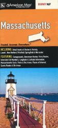 Buy map Massachusetts by Kappa Map Group from Massachusetts Maps Store
