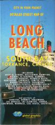 Buy map Long Beach-South Bay, Torrance and Carson, California by Global Graphics from California Maps Store