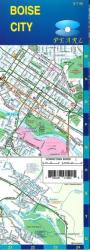 Buy map Boise, Idaho, Pearl Map, laminated by GM Johnson from Idaho Maps Store
