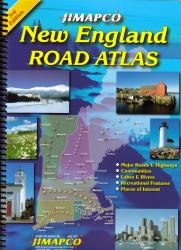 Buy map New England, Atlas by Jimapco from United States Maps Store
