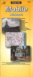 Buy map Mobile, Alabama by The Seeger Map Company Inc. from Alabama Maps Store