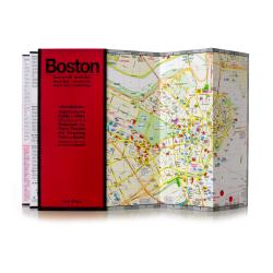 Buy map Boston, Massachusetts by Red Maps from Massachusetts Maps Store