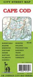 Buy map Cape Cod, Massachusetts by GM Johnson