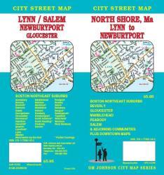Buy map North Shore, Massachusetts - Lynn to Newburyport by GM Johnson from Massachusetts Maps Store