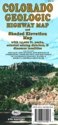Buy map Colorado, Geologic by GTR Mapping from Colorado Maps Store