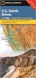 Buy map U.S. Scenic Drives GuideMap by National Geographic Maps from United States Maps Store