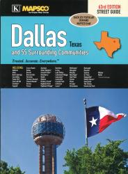 Buy map Dallas, Texas, Atlas, with 55 Surrounding Communities by Kappa Map Group from Texas Maps Store