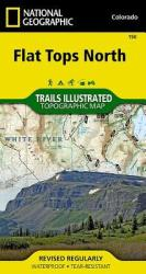 Buy map Flat Tops North, Map 150 by National Geographic Maps from Colorado Maps Store