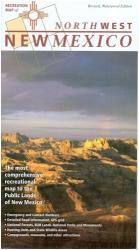 Buy map New Mexico, Northwest, Recreation Map by Public Lands Interpretive Association in New Mexico Map Store