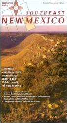 Buy map New Mexico, Southeast, Recreation Map by Public Lands Interpretive Association from New Mexico Maps Store