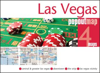 Buy map Las Vegas, Nevada, PopOut Map by PopOut Products from Nevada Maps Store