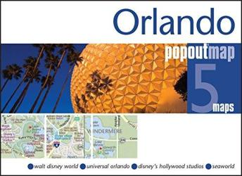 Buy map Orlando, Florida, PopOut Map by PopOut Products