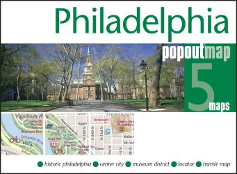 Buy map Philadelphia, Pennsylvania, PopOut Map by PopOut Products