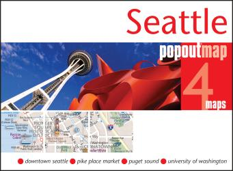 Buy map Seattle, Washington, PopOut Map by PopOut Products from Washington Maps Store