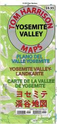 Buy map Yosemite Valley, California by Tom Harrison Maps