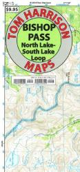 Buy map Bishop Pass, California by Tom Harrison Maps from California Maps Store