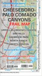Buy map Cheeseboro and Palo Comado Canyons, California by Tom Harrison Maps from California Maps Store