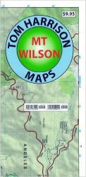 Buy map Mount Wilson, California by Tom Harrison Maps