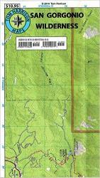 Buy map San Gorgonio Wilderness, California by Tom Harrison Maps