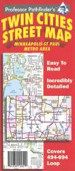 Buy map Twin Cities, Minnesota (494/694 loop) by Hedberg Maps from Minnesota Maps Store
