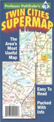 Buy map Twin Cities, Minnesota Supermap by Hedberg Maps