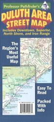 Buy map Duluth, Minnesota and Superior, Wisconsin by Hedberg Maps from Minnesota Maps Store