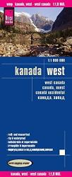 Buy map Canada, Western by Reise Know-How Verlag from Canada Maps Store