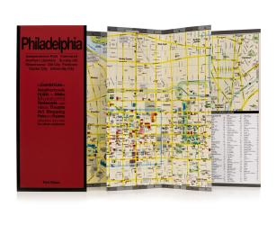 Buy map Philadelphia, Pennsylvania by Red Maps