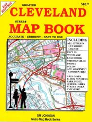 Buy map Cleveland, Ohio, Street Map Book by GM Johnson from Ohio Maps Store