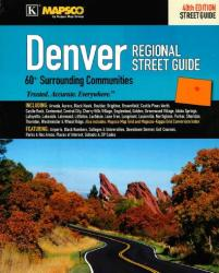 Buy map Denver, Colorado, Regional Atlas by Kappa Map Group from Colorado Maps Store
