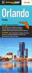 Buy map Orlando, Florida by Kappa Map Group from Florida Maps Store