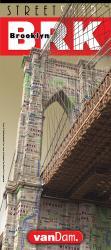 Buy map Brooklyn, New York StreetSmart by VanDam from New York Maps Store