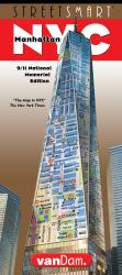 Buy map New York City, 9/11 Memorial StreetSmart by VanDam