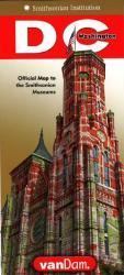 Buy map Smithsonian DC StreetSmart by VanDam from District of Columbia Maps Store