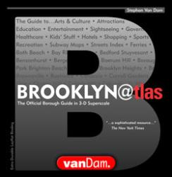 Buy map Brooklyn@tlas by VanDam from New York Maps Store