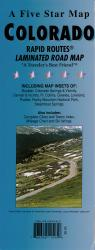 Buy map Colorado Rapid Routes by Five Star Maps, Inc. from Colorado Maps Store