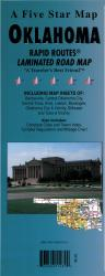 Buy map Oklahoma Rapid Routes by Five Star Maps, Inc.