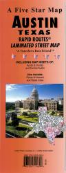 Buy map Austin, Texas Rapid Routes by Five Star Maps, Inc. from Texas Maps Store
