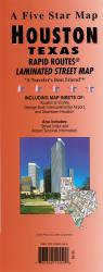 Buy map Houston, Texas Rapid Routes by Five Star Maps, Inc. from Texas Maps Store