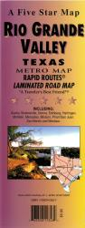 Buy map Rio Grande Valley Rapid Routes by Five Star Maps, Inc. from Texas Maps Store