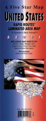 Buy map United States Interstate Rapid Routes by Five Star Maps, Inc. from United States Maps Store