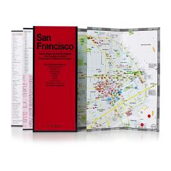 Buy map San Francisco, California by Red Maps from California Maps Store